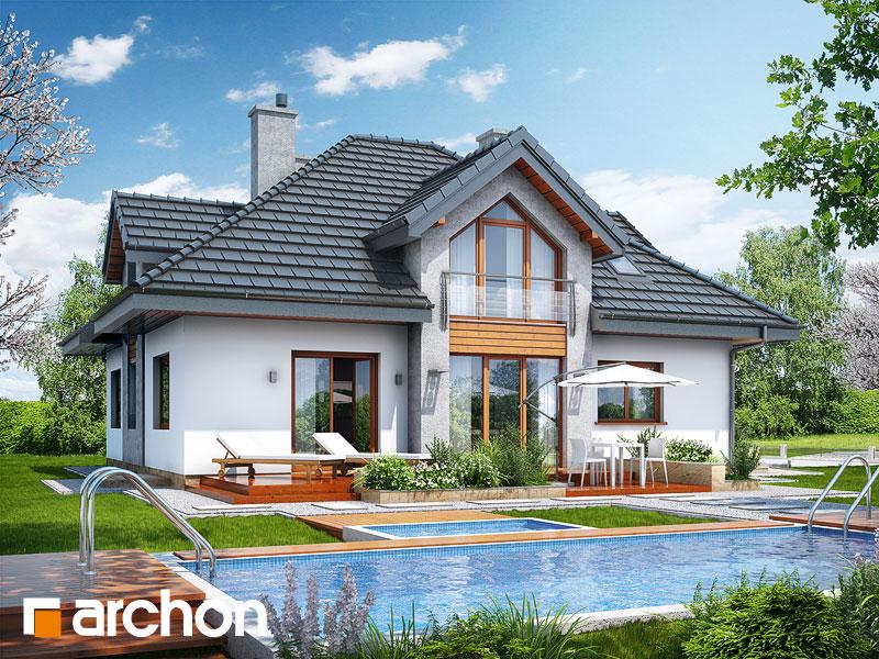 Dom w tymianku (PN) - wizualizacja 2