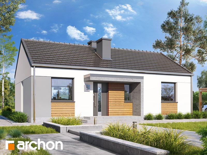 Dom w kruszczykach 3 - wizualizacja 2