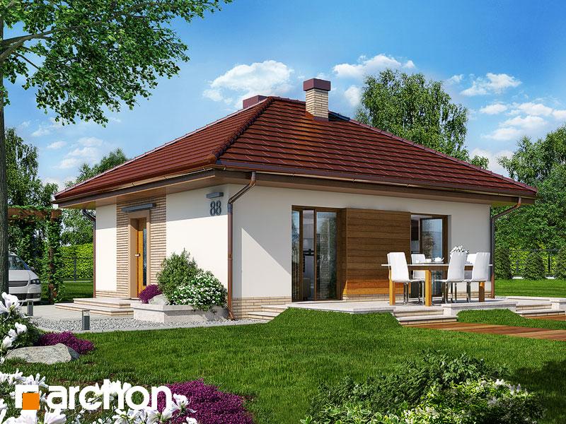 Dom w kuklikach ver.2 - wizualizacja 1