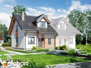 Dom w cyklamenach 2 (A)