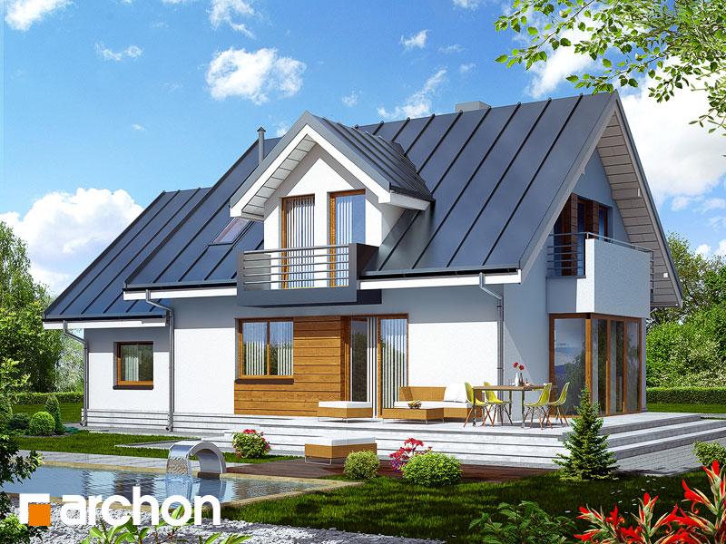 nowoczesny projekt dom w rododendronach 6 n ver 2. Black Bedroom Furniture Sets. Home Design Ideas