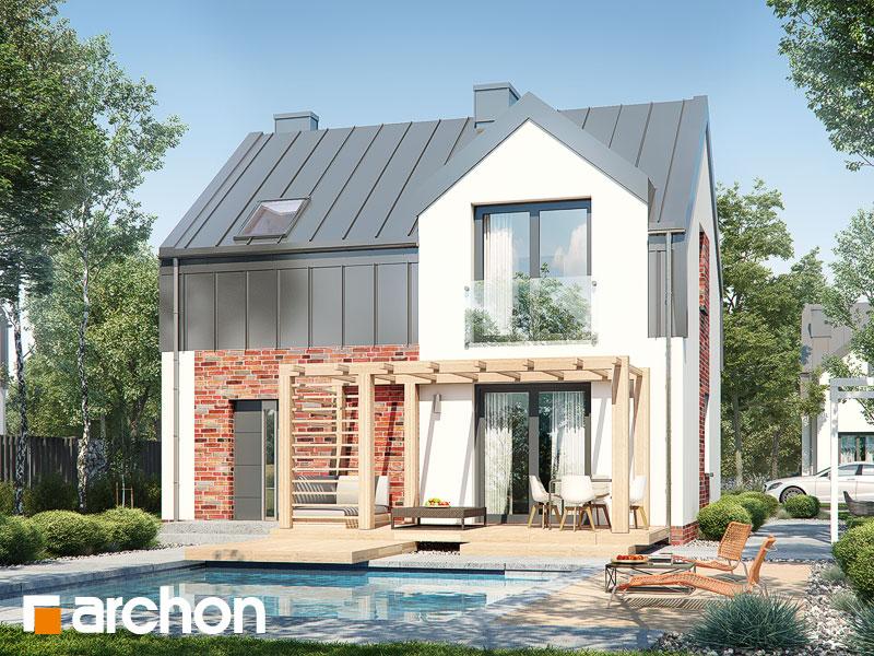 Dom w gunnerach - wizualizacja 2