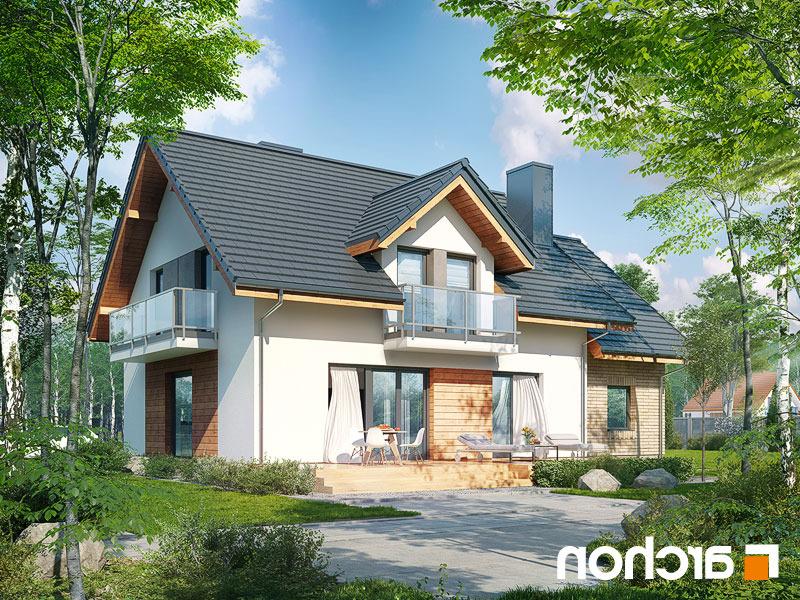 Nowoczesny Projekt Dom W Rododendronach 23