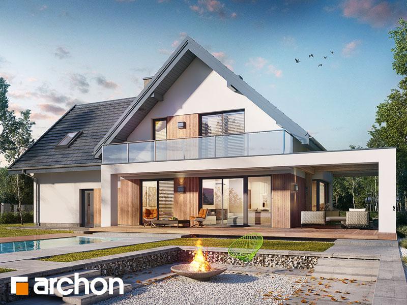 Nowoczesny Projekt Dom W Amorfach 2 G2a