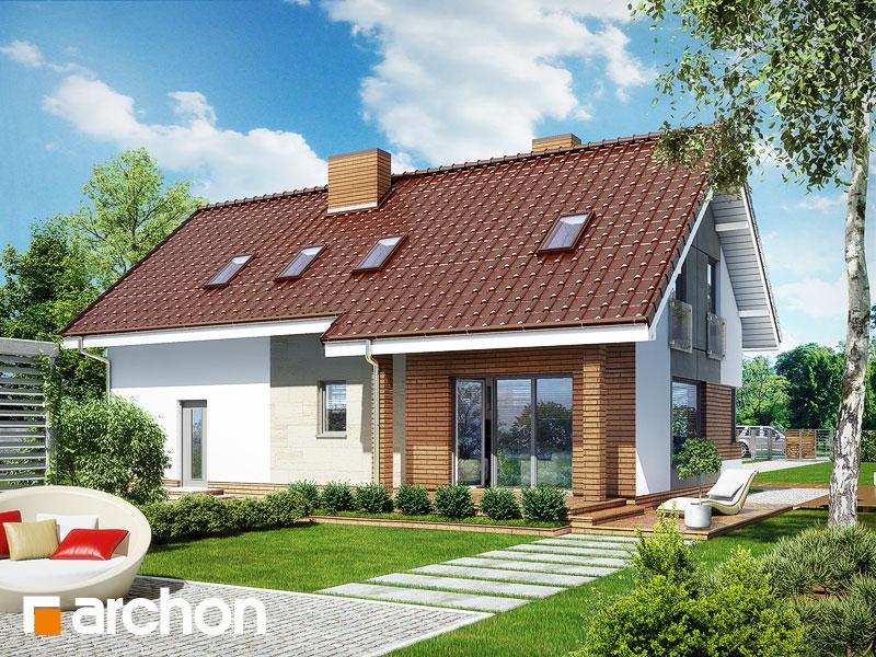 Dom w żurawkach (G2T) - wizualizacja 2