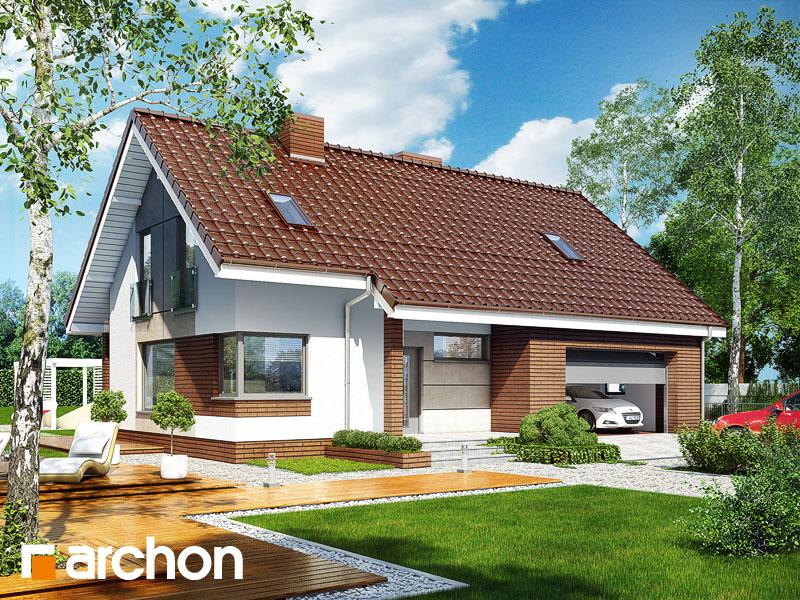 Dom w żurawkach (G2T) - wizualizacja 1