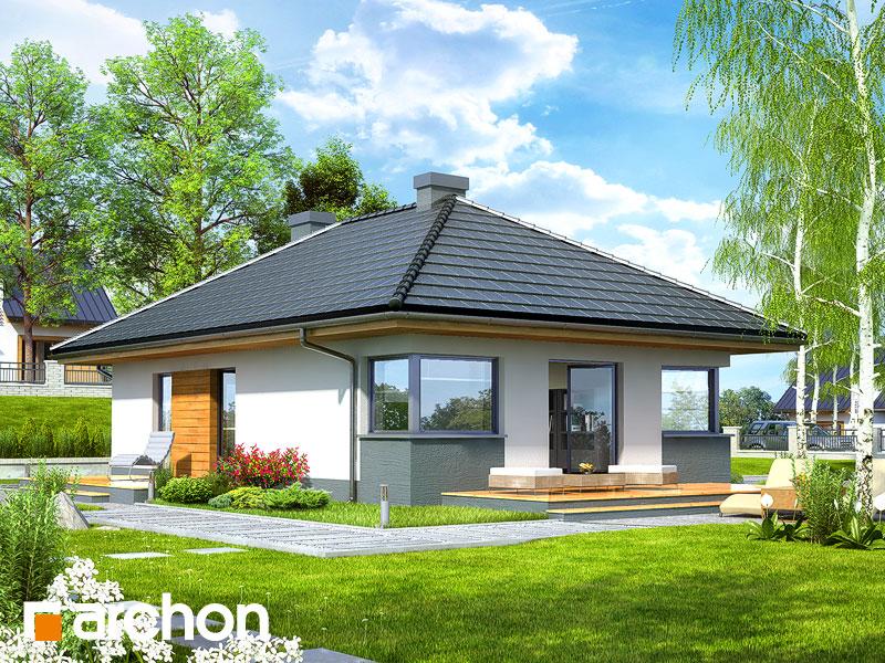 Dom w majówkach ver.2 - wizualizacja 2