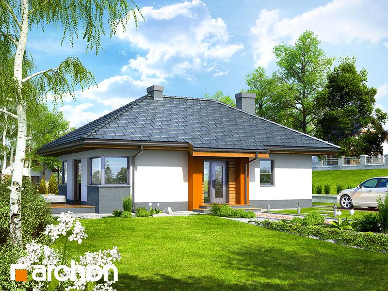 Dom w majówkach ver.2 - wizualizacja 1