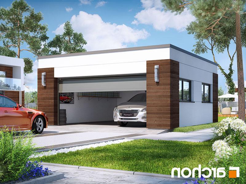 Nowoczesny Projekt Garaż 2 Stanowiskowy G21