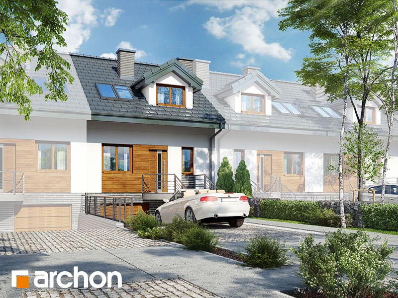 Dom w cyklamenach 4 (PS) ver.2 - wizualizacja 1