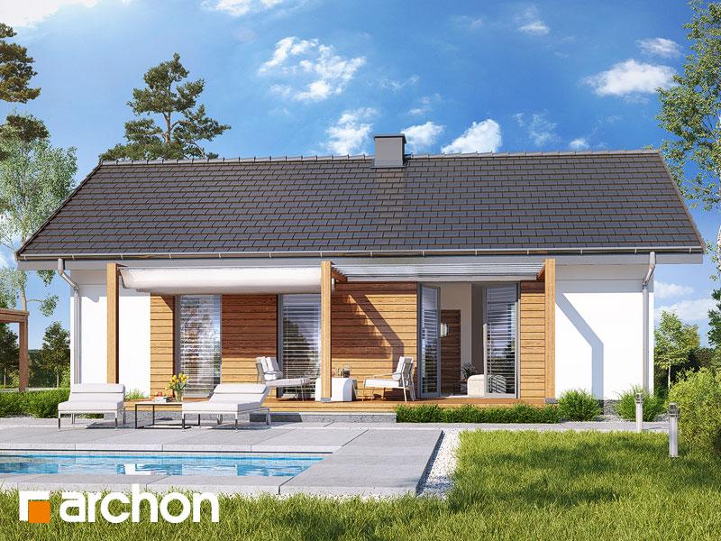 Dom w kruszczykach 3 (A) - wizualizacja 1