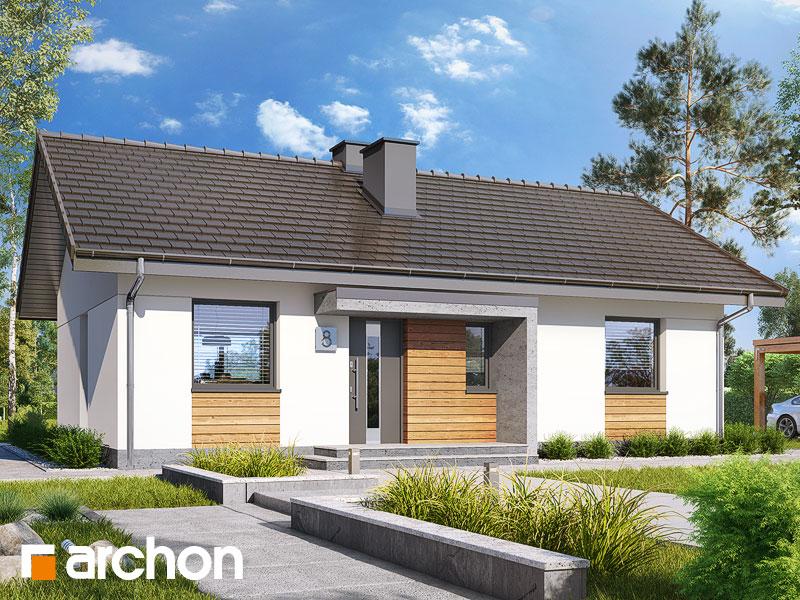 Dom w kruszczykach 3 (A) - wizualizacja 2