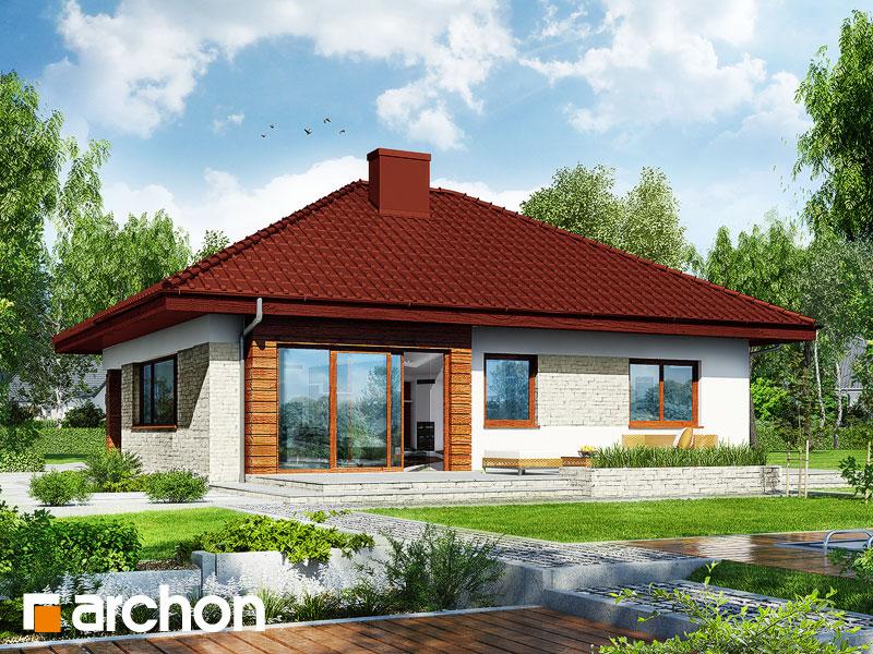 Dom w lilakach 2 (G2) - wizualizacja 2
