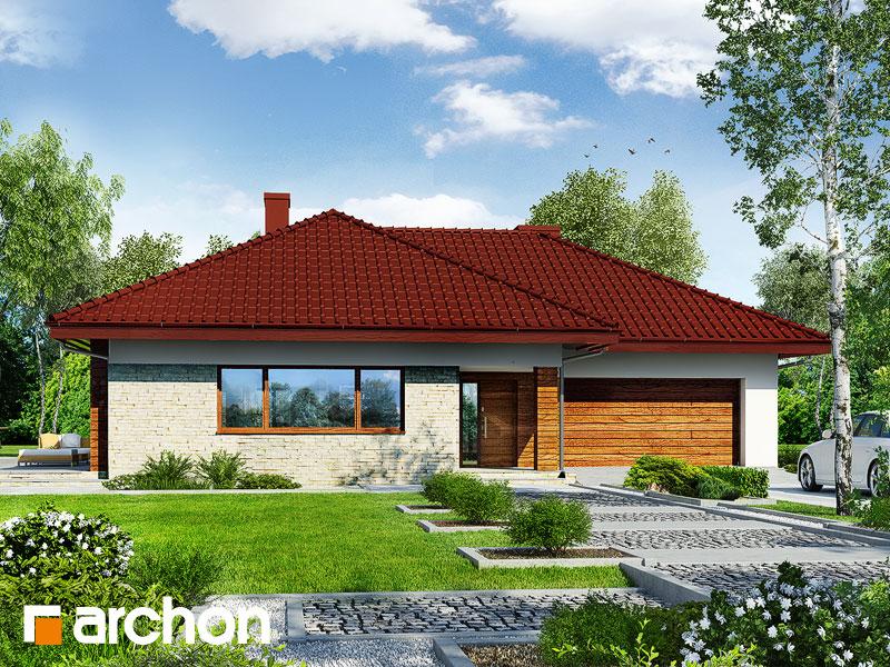 Dom w lilakach 2 (G2) - wizualizacja 1