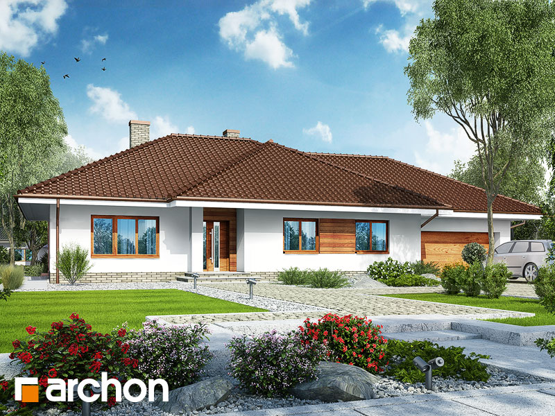 Dom w alwach 2 (G2) - wizualizacja 1