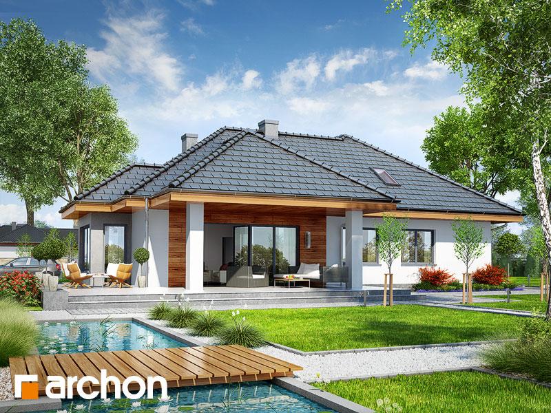 Dom w powojach 3 (G2) - wizualizacja 2