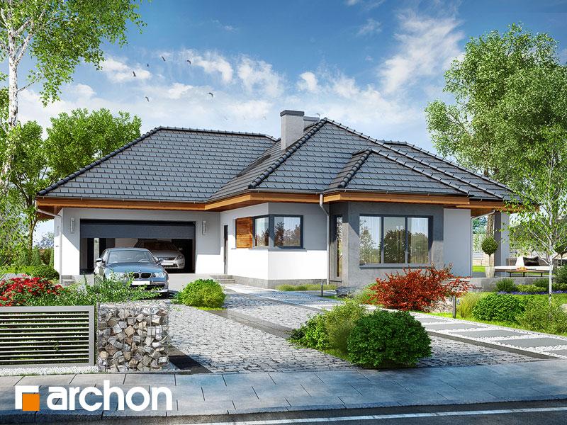 Dom w powojach 3 (G2) - wizualizacja 1