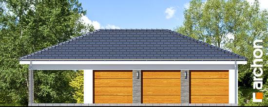 Nowoczesny Projekt Garaż 3 Stanowiskowy G23
