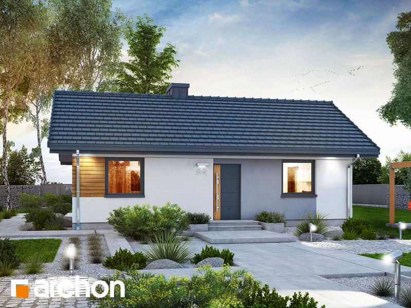 Dom w kruszczykach 2 - wizualizacja 1