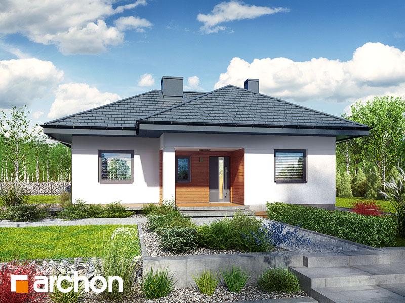 Dom w kosztelach - wizualizacja 2