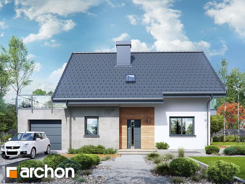 Dom w zielistkach (GPN) - wizualizacja 1