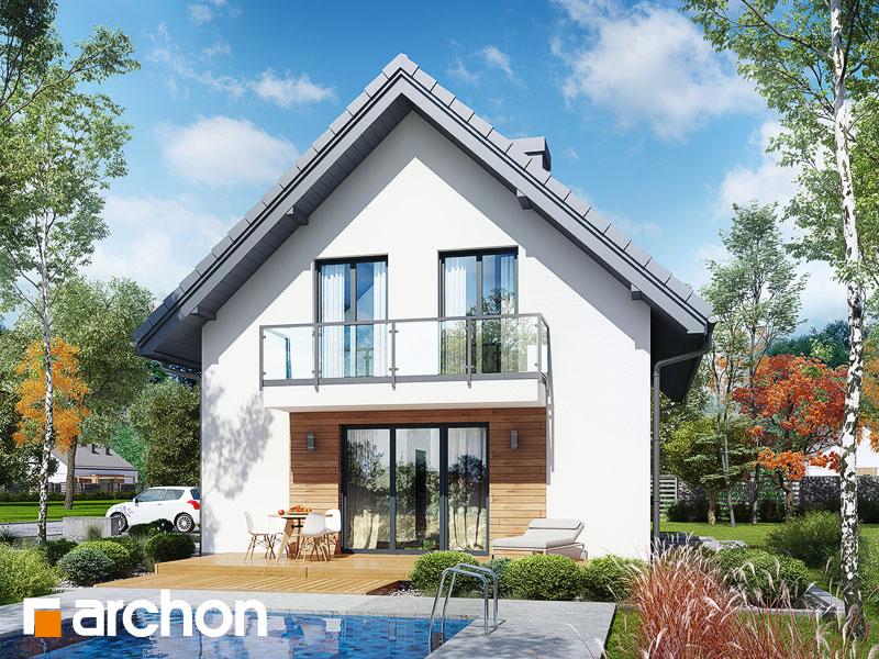 Dom w zielistkach (GPN) - wizualizacja 2