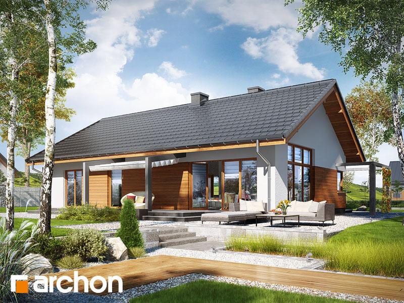 Dom w mekintoszach (WP) - wizualizacja 1