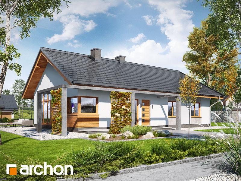 Dom w mekintoszach (WP) - wizualizacja 2