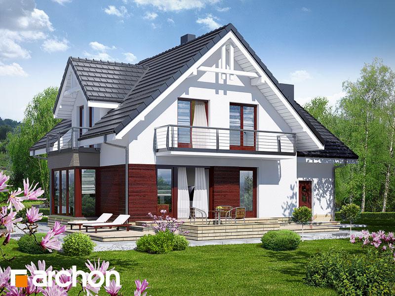 Dom w tamaryszkach 2 (N) ver.2 - wizualizacja 2