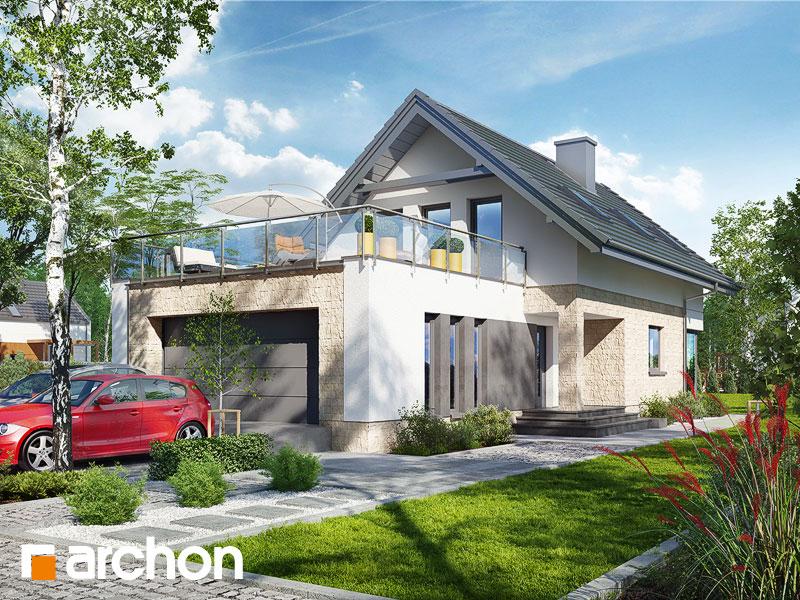 Dom w cytryńcach (G2) - wizualizacja 1