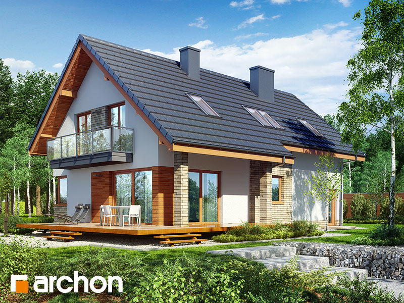 Nowoczesny Projekt Dom W Idaredach 5 A