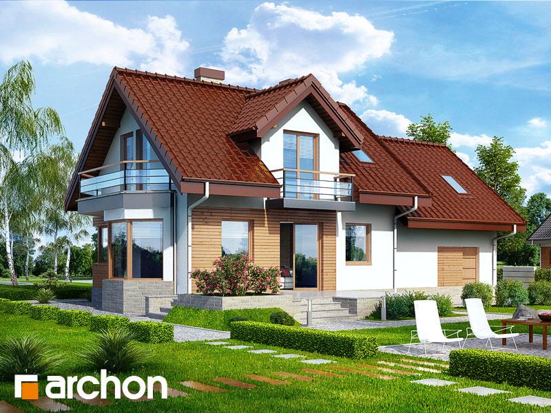 Dom w perłówce (G2N) ver.2 - wizualizacja 2