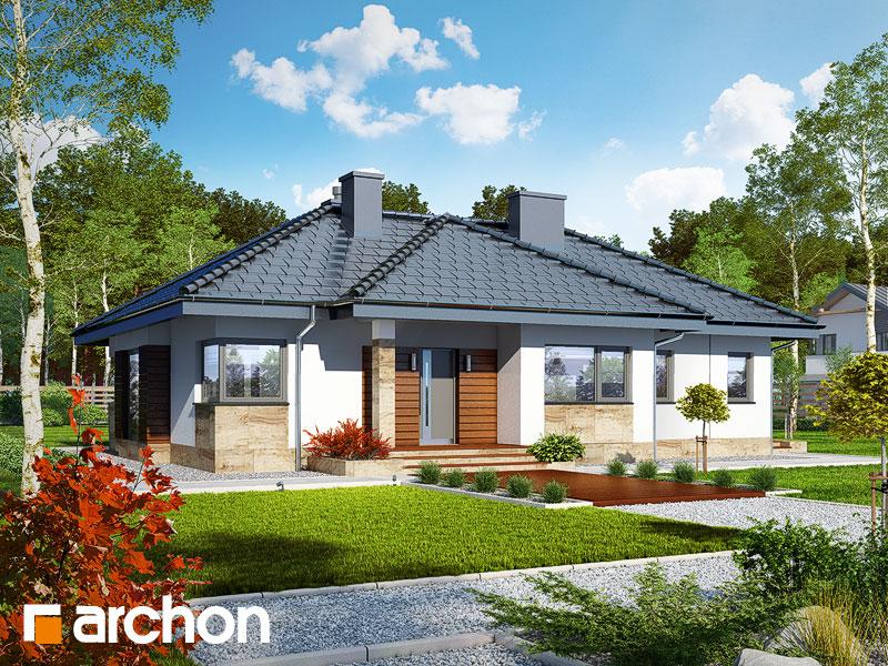 Dom w gruszach (P) - wizualizacja 2