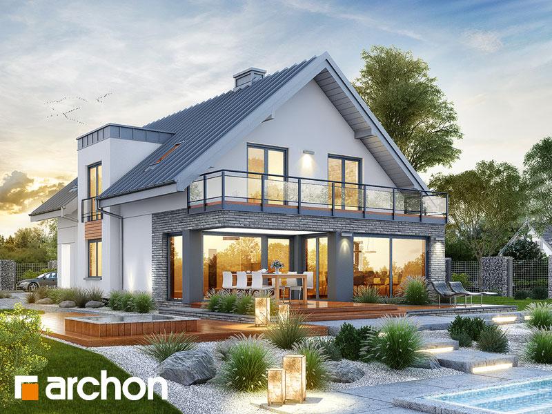 Nowoczesny Projekt Dom W Czermieni G2