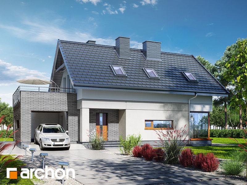 Dom w cytryńcach (P) - wizualizacja 1