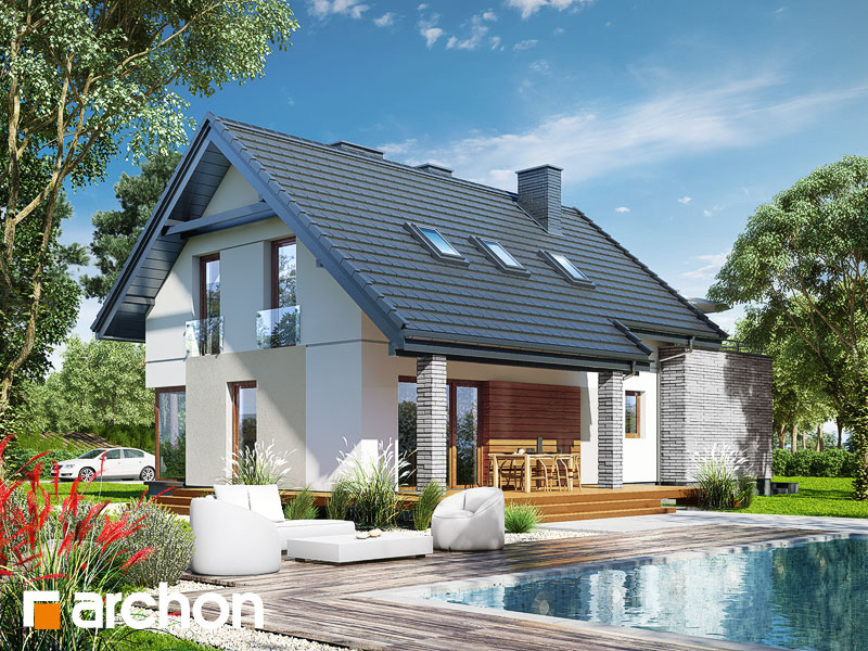 Dom w cytryńcach (P) - wizualizacja 2