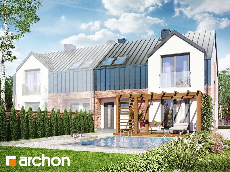 Dom w gunnerach (BA) - wizualizacja 1