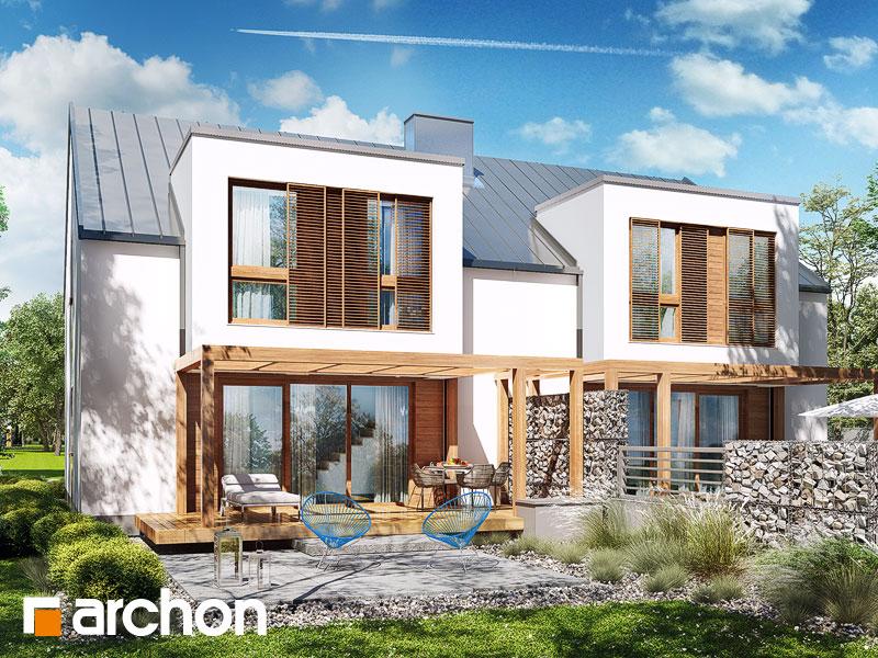 Dom w klematisach 22 (R2) - wizualizacja 2