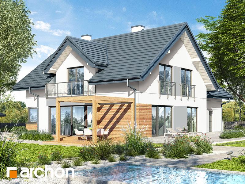 Dom w hortensjach 2 (G2) - wizualizacja 2