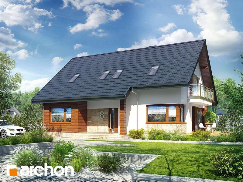 Dom w idaredach 3 (P) - wizualizacja 1