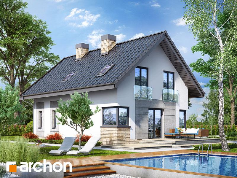 Dom w żurawkach 3 (P) - wizualizacja 2