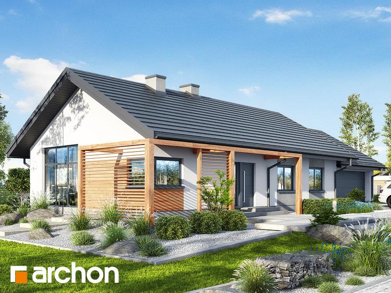 Dom w mekintoszach (G2) - wizualizacja 1