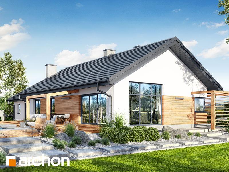 Dom w mekintoszach (G2) - wizualizacja 2