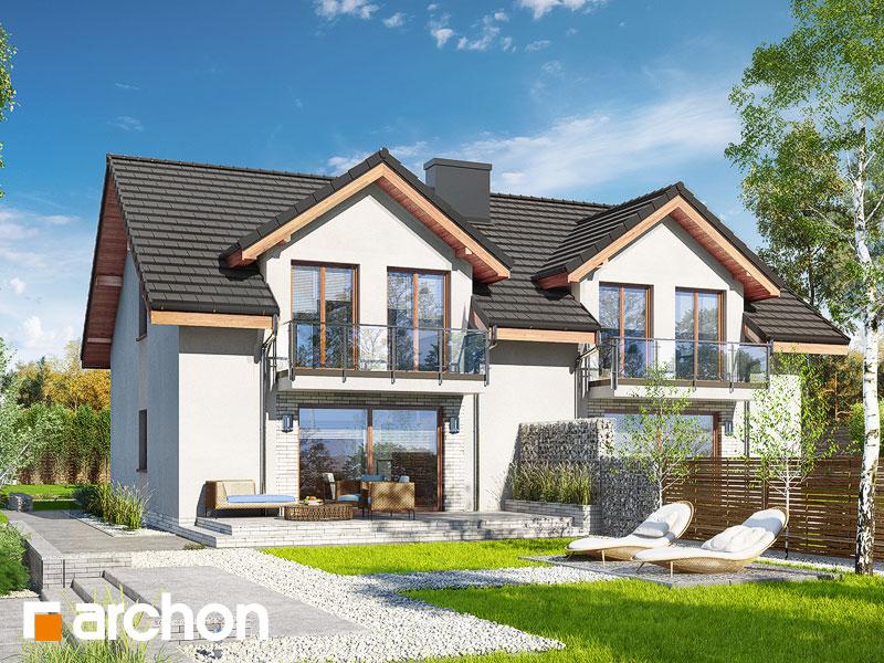 Dom w klematisach 21 (R2) - wizualizacja 2