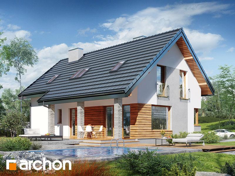 Dom w żurawkach 4 (P) - wizualizacja 2