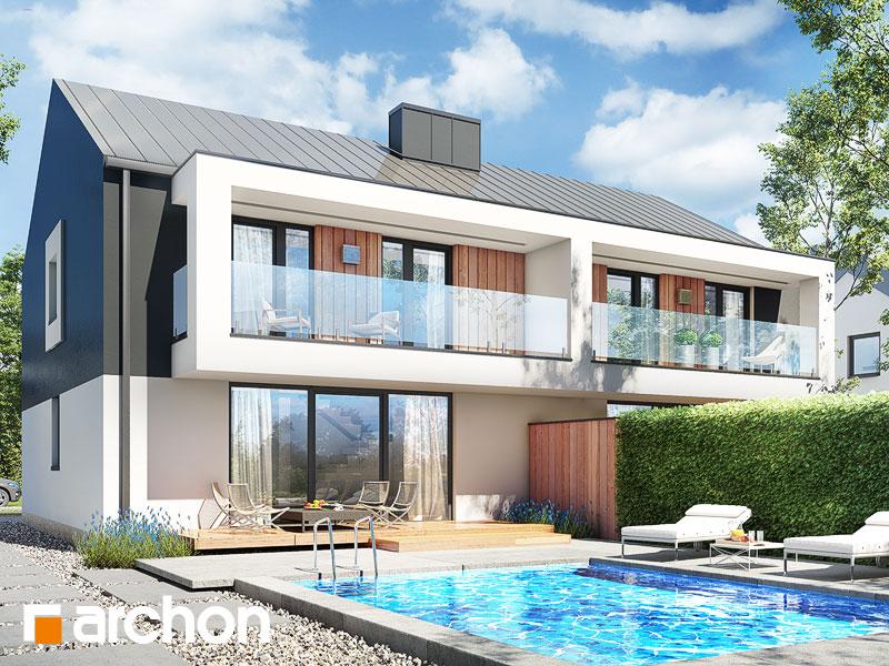Dom w klematisach 28 (R2) - wizualizacja 2