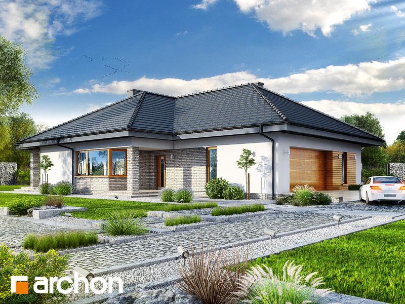 Dom w lilakach 5 (G2) - wizualizacja 1