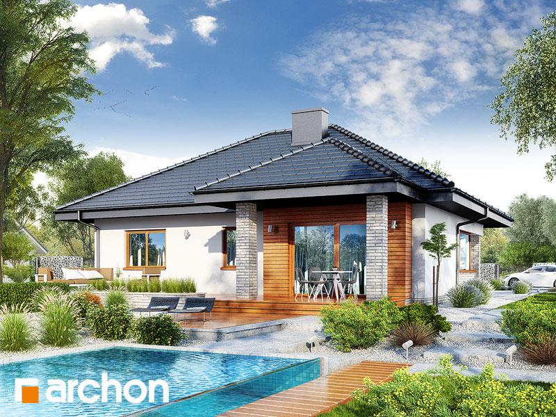 Dom w lilakach 5 (G2) - wizualizacja 2