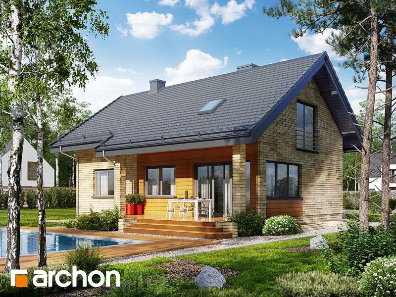 Dom pod lipką 2 (P) - wizualizacja 2