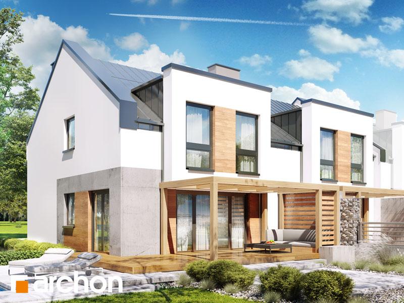 Dom w klematisach 25 (R2B) - wizualizacja 2
